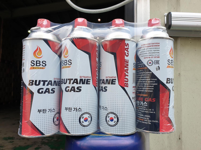 Новая продукция Газовые баллоны